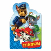 Paw Patrol Thank You Cards