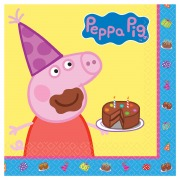 Peppa Party Napkins