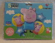 Peppa 5 Piece Balloon Kit