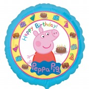 Peppa Pig Birthday Balloon