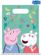 Peppa Pig Messy Party Bags