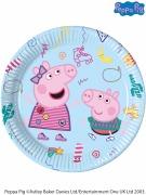 Peppa Pig Messy Plates