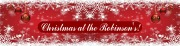 Personalise Christmas Banner