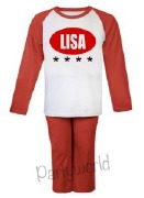 Personalise USA Pyjamas