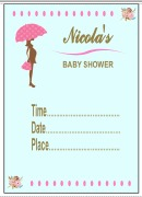 Personalise Baby Shower Invite