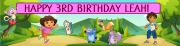 Personalised Dora Banner