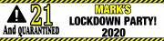 Personalised Lockdown Banner