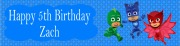 Personalised PJ Masks Banner