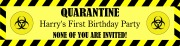 Personalised Quarantine Banner