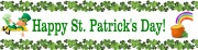 Personalised St Patrick Banner