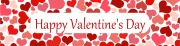 Personalised Valentines Banner