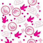 Pink Church Communion Confetti