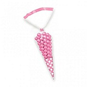 Pink Cone Favor Bags