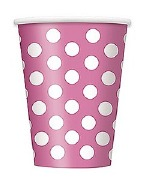 Pink Dots Cups