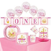 Pink & Gold 1 Birthday Bundle