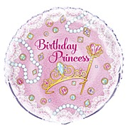Pink Princess Foil Balloon