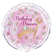 Pink Princess Foil Balloon