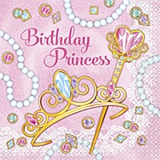 Pink Princess Party Napkins