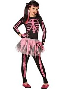 Pink Skeleton Costume