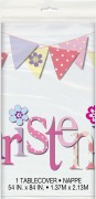 Pink Bunting Tablecover