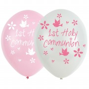 Pink Church Communion Balloons
