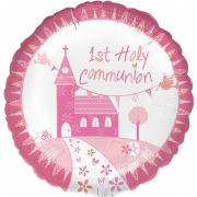 Pink Church Foil Balloon
