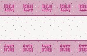 Pink Dots Glitz Tablecover