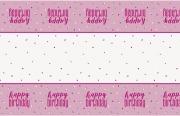 Pink Dots Glitz Tablecover