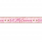 Pink Dove Communion Banner