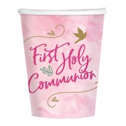 Pink Dove Communion Cups