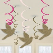 Pink Dove Communion Swirls