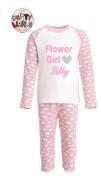 Pink Flower Girl Pyjamas