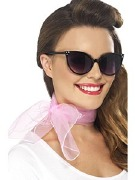 Pink Neck Scarf