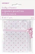 Pink Organza Pouches