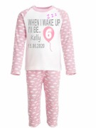Pink Personalised Birthday PJs