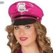Pink Policewoman Hat