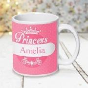 Pink Princess Design Mug