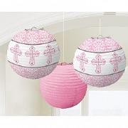 Pink Religious Lanterns