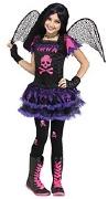 Pink Skull Fairy Costume