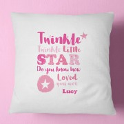 Pink Twinkle Cushion