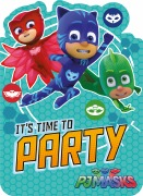 PJ Masks Party Invitations