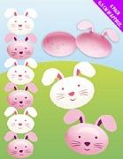 Plastic Bunny Eggs