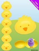 Plastic Egg Chick