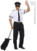 Plus Size Pilot Costume