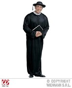Plus Size Priest Costume
