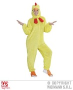 Plush Chicken Costume