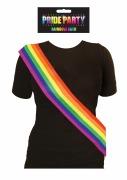 Pride Party Rainbow Sash