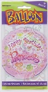 Princess Party Balloon