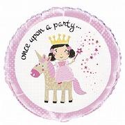Princess & Unicorn Balloon