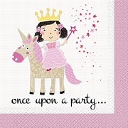 Princess & Unicorn Napkins